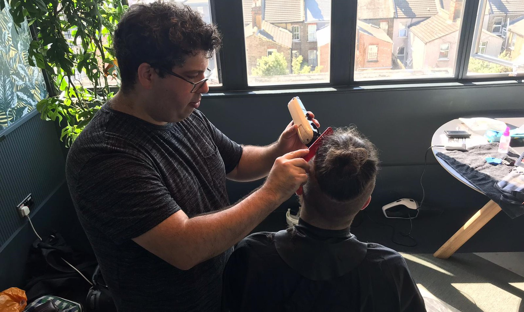 Interview with Daniel, one of our senior mobile barber!