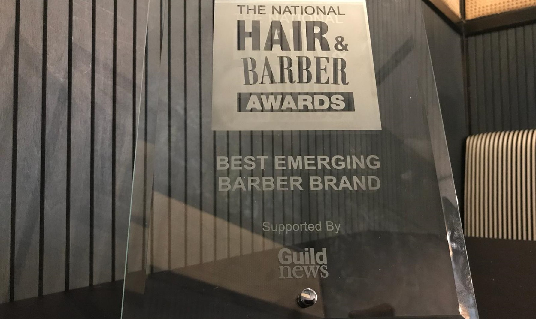 Get Groomed has been awarded Best Emerging Barber Brand !!