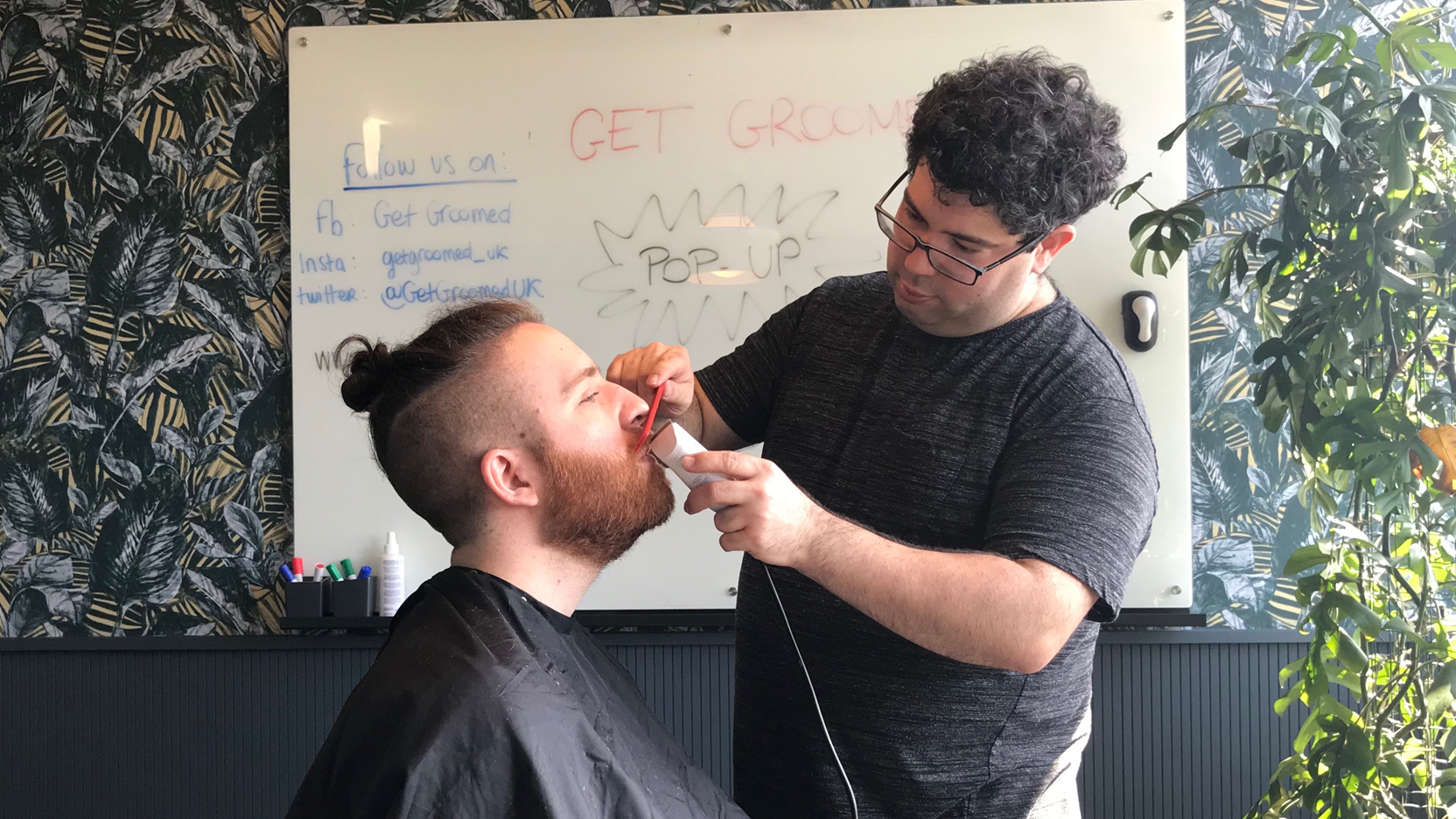 Check out Danny's interview, one of our senior barber!