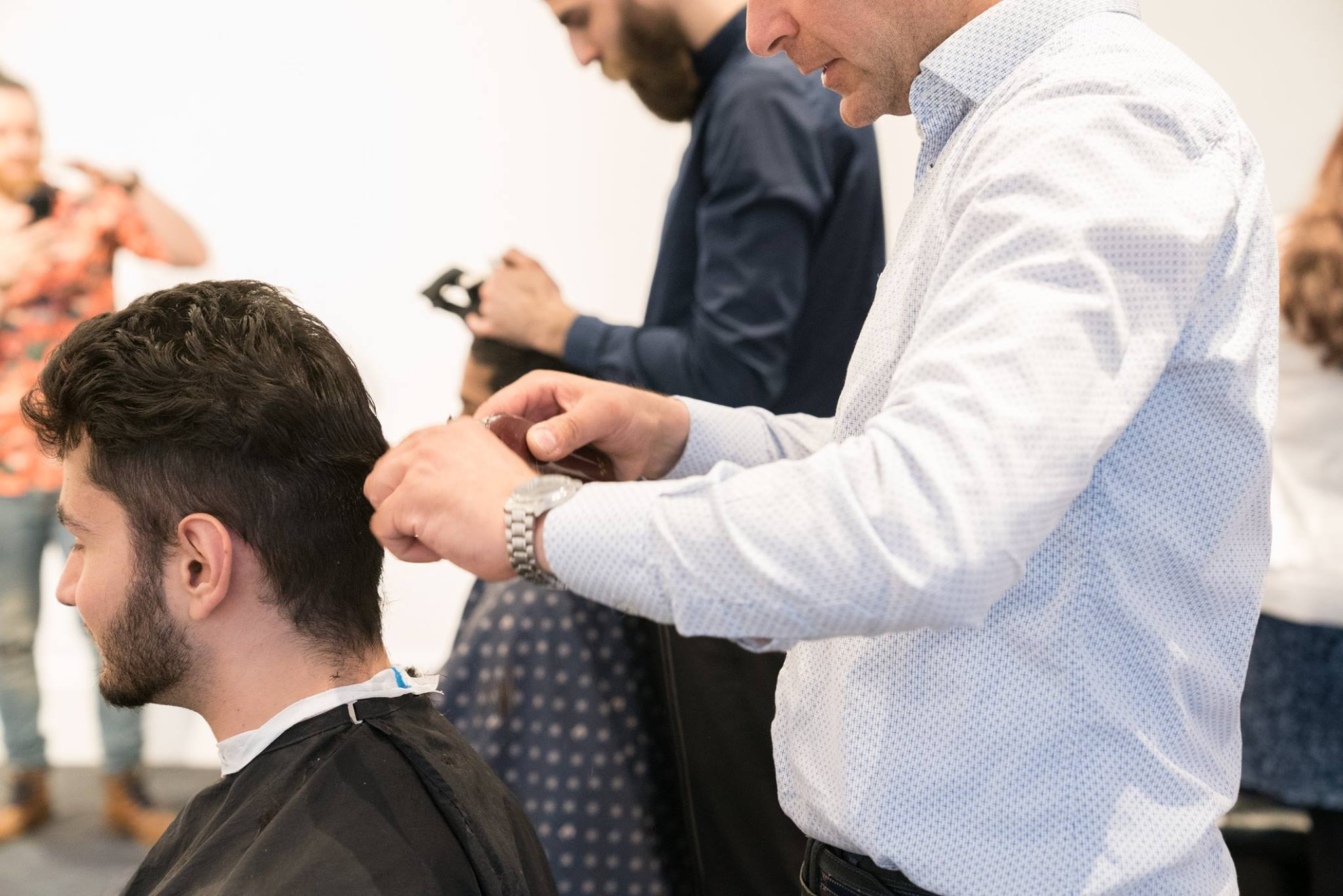 barber haircut event