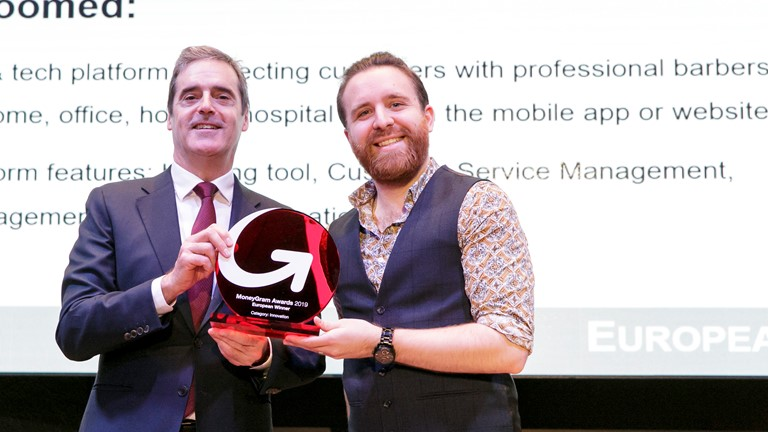 Get Groomed has won the MoneyGram innovation of the year awards