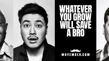 Our initiative with the Movember foundation