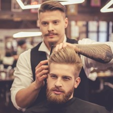 Haircut & Restyle + Beard Restyle